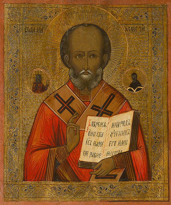 Neznámy ikonopisec - Svätý Mikuláš