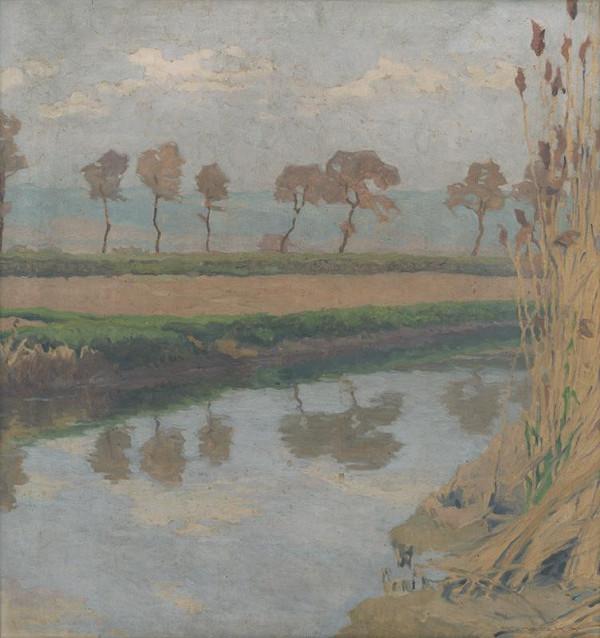 Július Koreszka – Mŕtve rameno Dunaja pri Bratislave