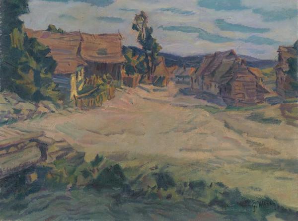 Gustáv Mallý - Krajina od Mengušoviec