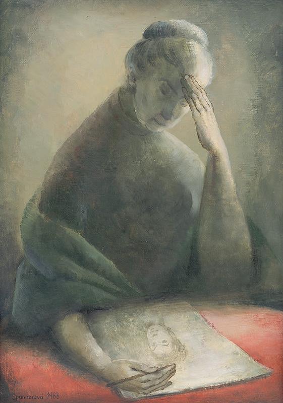 Edita Spannerová – Autoportrét