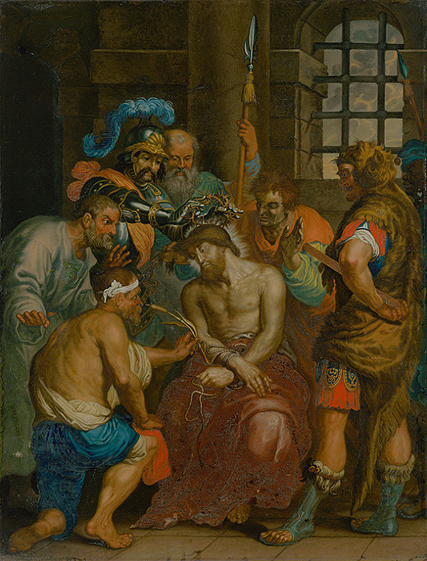 Flámsky maliar, Anthony van Dyck - Korunovanie tŕním