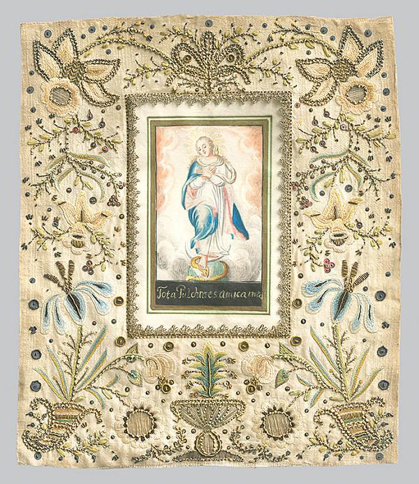 Slovenský maliar z 18. storočia a dielenská práca, Neznámy maliar – Immaculata