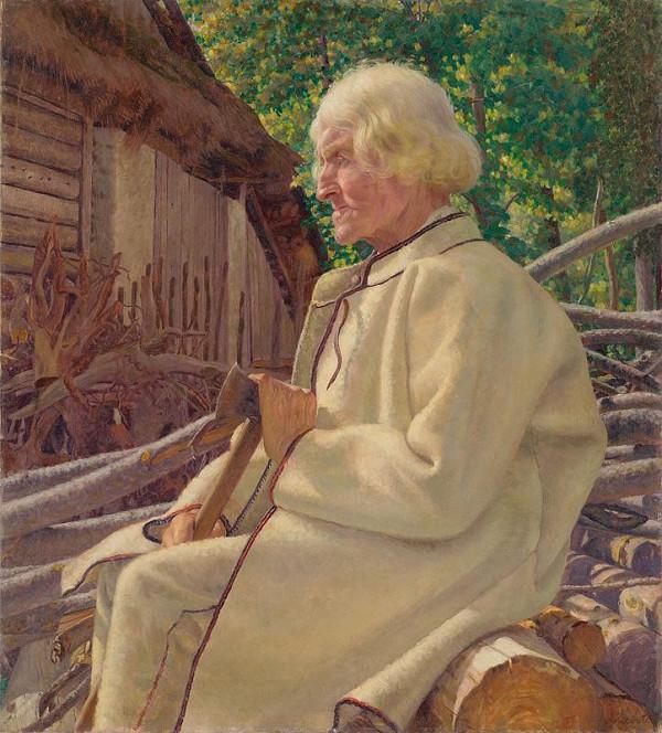 Ivan Žabota – Portrét starca