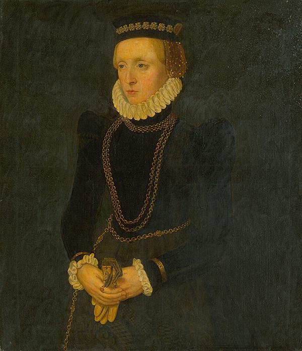 Nizozemský maliar zo 17. storočia – Podobizeň Anny Boleyovej ?