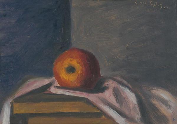 Peter Matejka – Zátišie s jabĺčkom