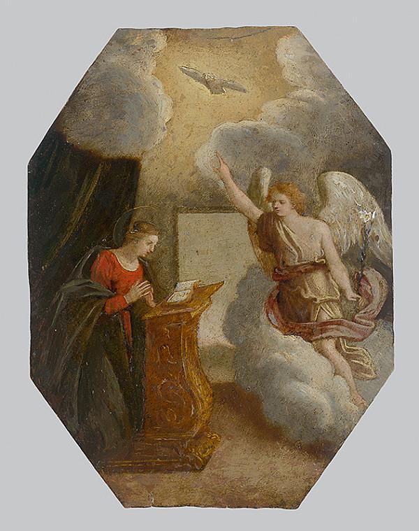 Španielsky maliar zo 17. storočia – Zvestovanie Panny Márie