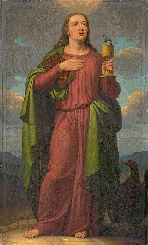 Jozef Božetech Klemens - Svätý Ján Evanjelista