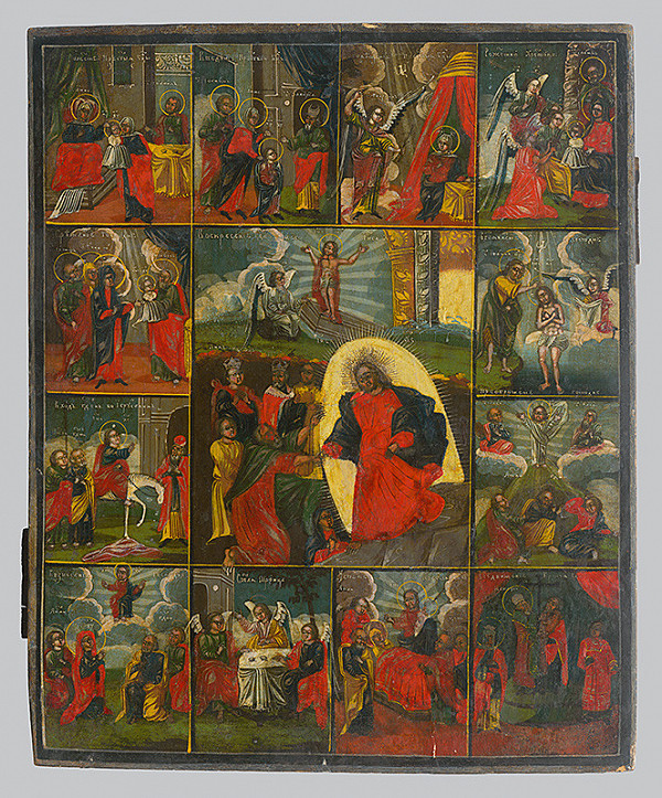 Ruský ikonopisec – Zmŕtvychvstanie Krista