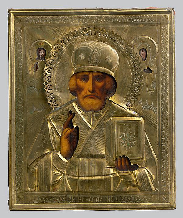 Ruský ikonopisec – Svätý Mikuláš