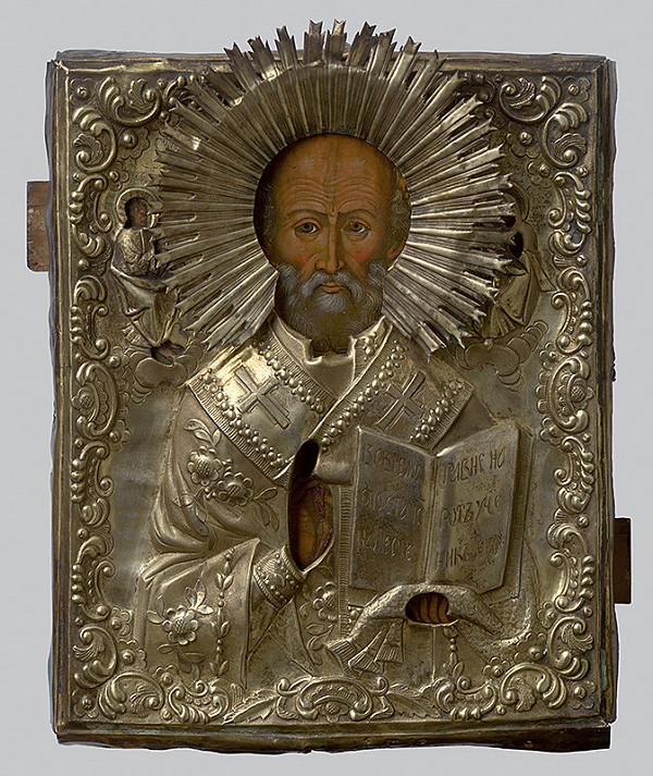 Ruský ikonopisec – Sv. Mikuláš Divotvorca