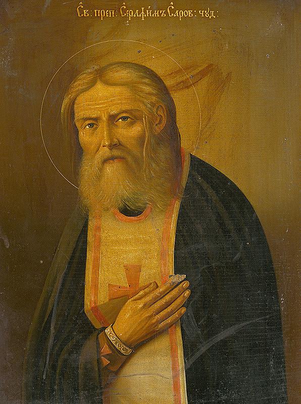 Ruský ikonopisec – Svätec