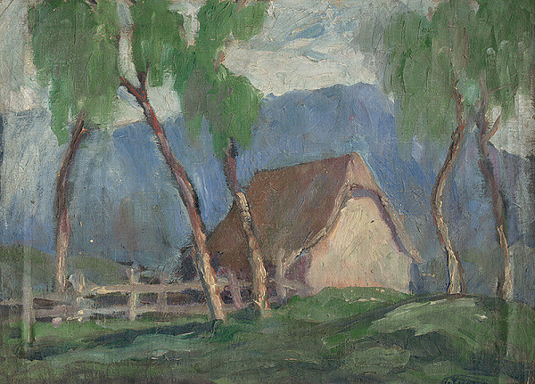 Zolo Palugyay - Krajina s brezami