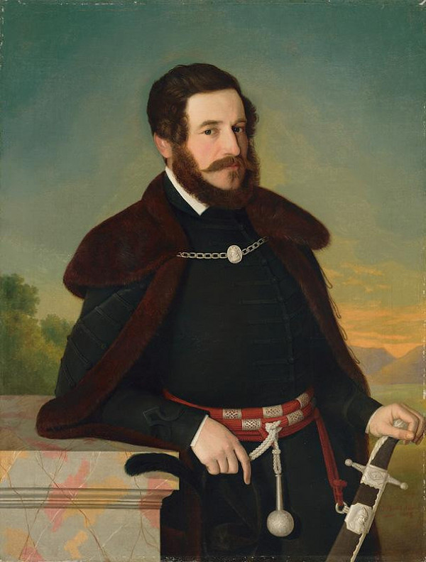 Jozef Božetech Klemens – Podobizeň Edmunda Szmrecsányiho