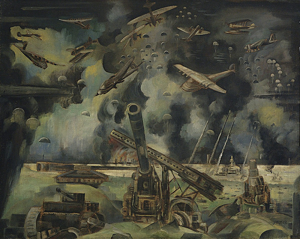 Anton Jasusch - Vojna
