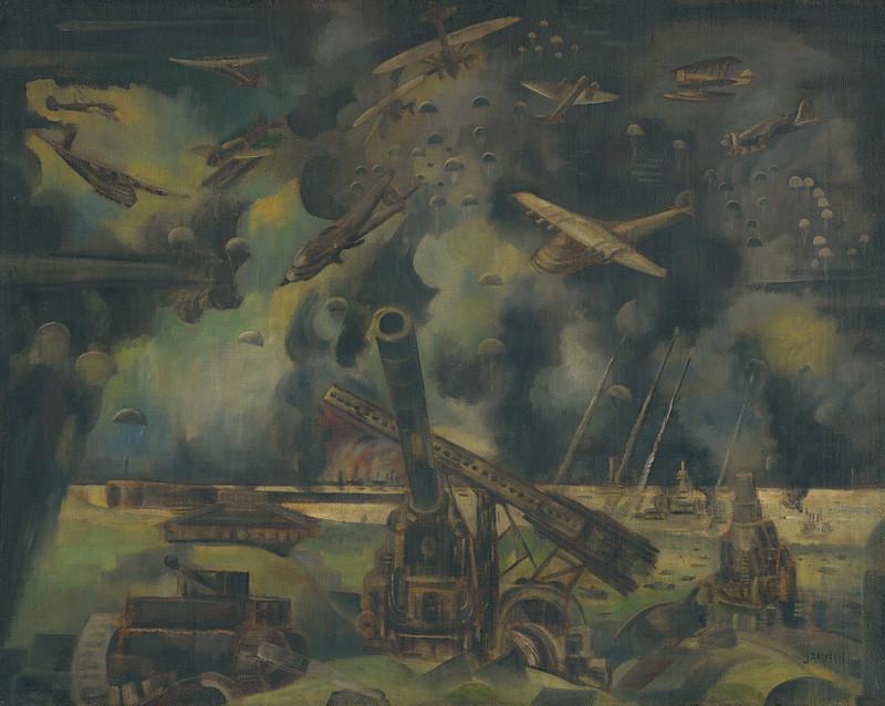 Anton Jasusch – Vojna, 1920 – 1940, Slovenská národná galéria