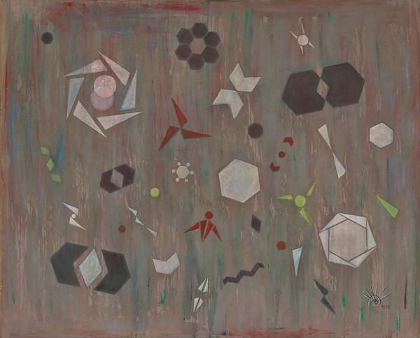 Hildegard Joos – Narrative Geometrismen Nr 51