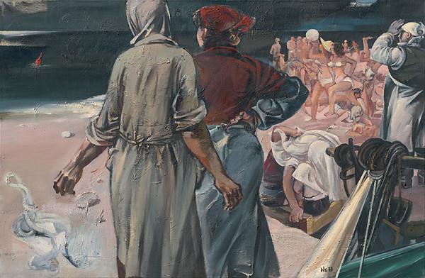 Walter Womacka – Ženy čakajúce rybárov