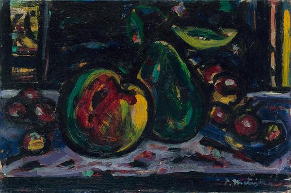 Peter Matejka - Zátišie s ovocím