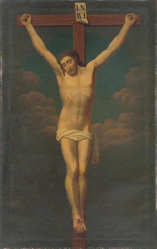Jozef Božetech Klemens – Kristus na kríži