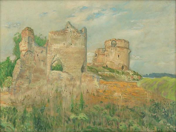 Karol Miloslav Lehotský - Zrúcaniny hradu Báč
