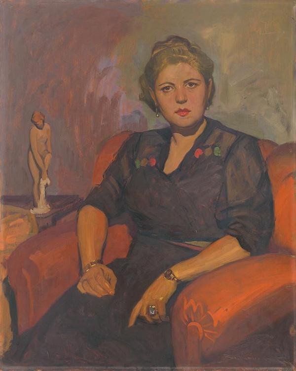 Július Bukovinský – Portrét pani Krupcovej