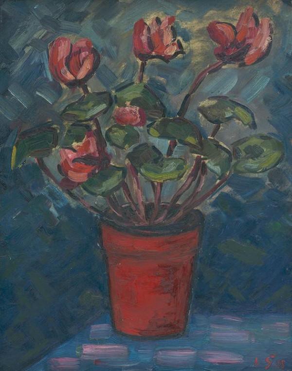 Václav Špála - Zátišie s kvetmi