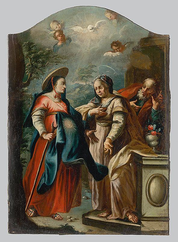 Slovenský maliar z polovice 18. storočia, Neznámy maliar – Navštívenie Panny Márie