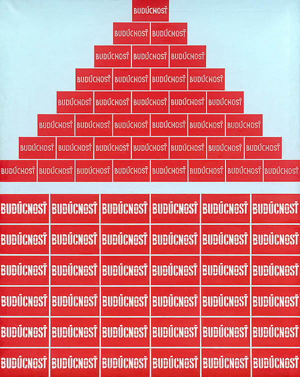 Rudolf Sikora - Z cyklu Pyramída... Civilizácia... Diagramy (Nový krásny svet...!)