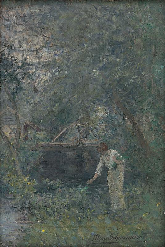 Maximilián Schurmann – Záhrada Claude Moneta