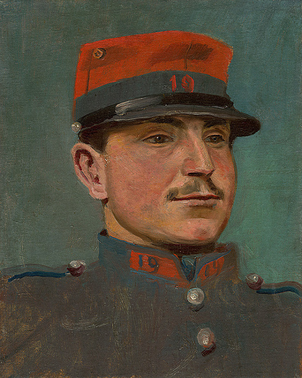 Ladislav Mednyánszky - Dôstojník