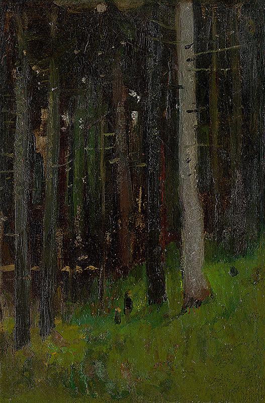 Ladislav Mednyánszky - Dvaja v lese