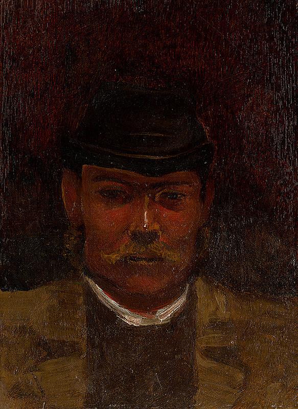 Ladislav Mednyánszky - Muž s bradou
