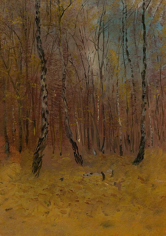 Ladislav Mednyánszky - Jesenný les