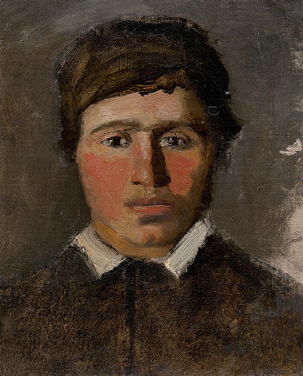 Ladislav Mednyánszky - Červenolící chlapec