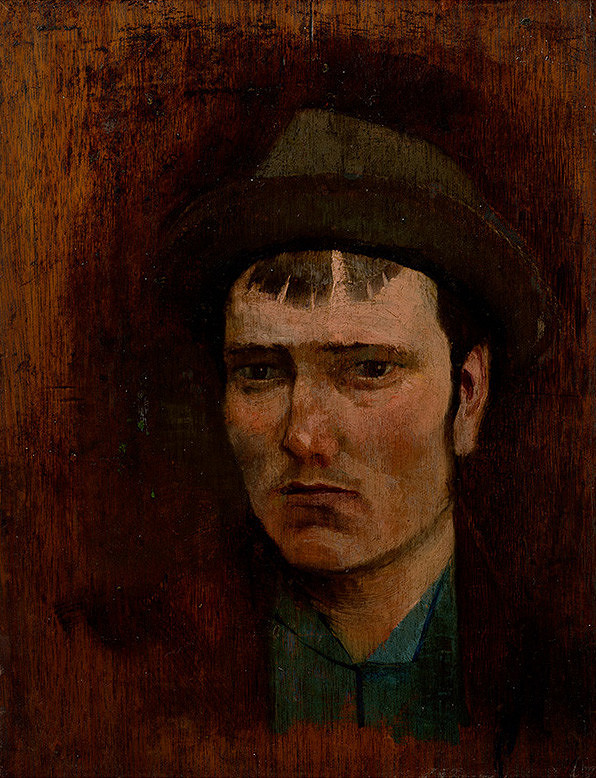 Ladislav Mednyánszky - Mladý chlapec v klobúku
