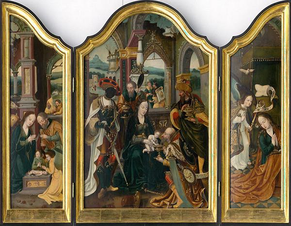Jan Mertens ml. – Triptych Klaňania troch kráľov