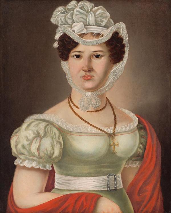 Ján Rombauer – Portrét mladej dámy - p. Maléterová