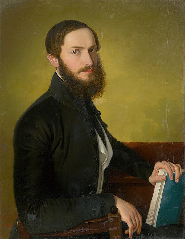 Jozef Božetech Klemens - Portrét muža