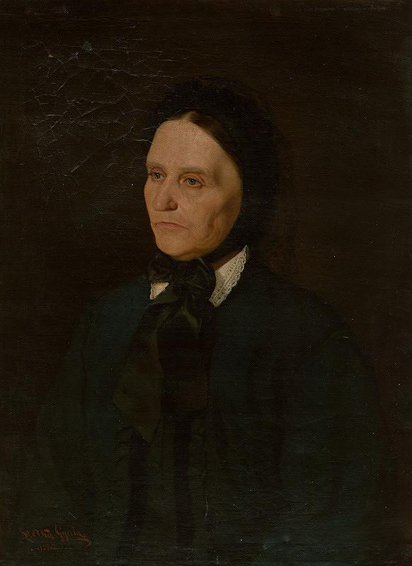 Július Štetka – Portrét ženy