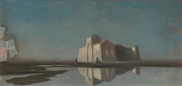 Neznámy nemecký maliar – Orientálna krajina