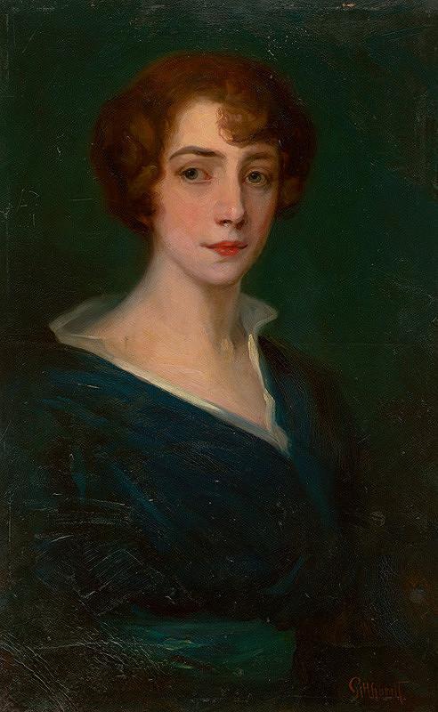 Ľudovít Pitthordt - Portrét ženy