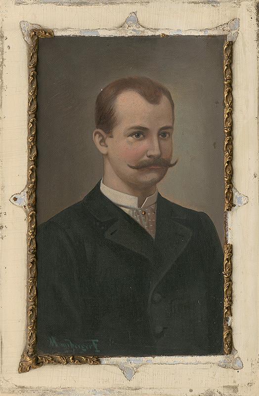 F. Mayerberger - Portrét muža