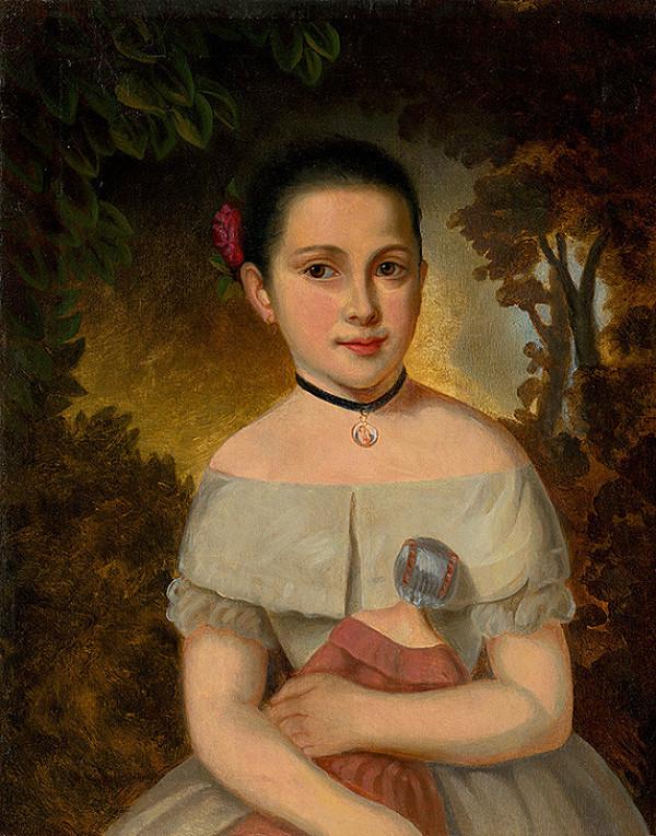 Jozef Czauczik – Dievčatko s bábikou