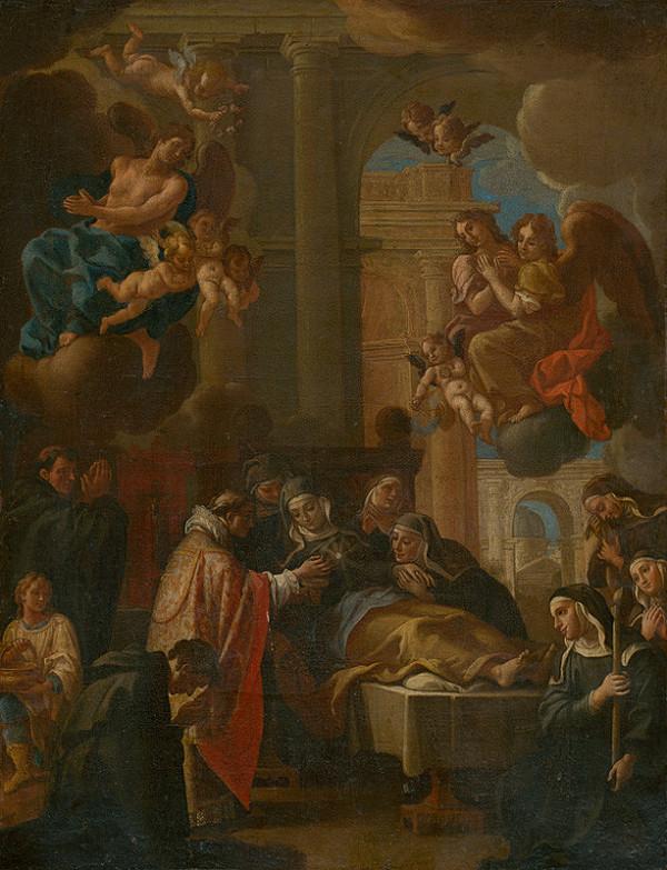 Neznámy maliar – Smrť sv. Kláry