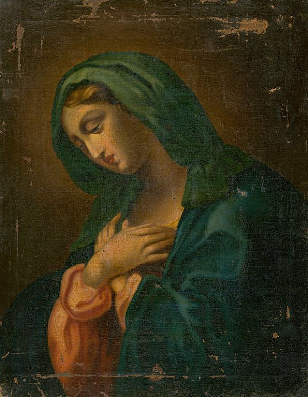 Neznámy stredoeurópsky maliar – Panna Mária
