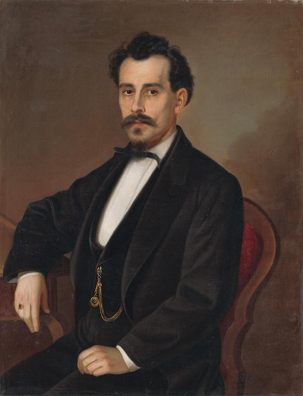 Peter Michal Bohúň - Podobizeň Izidora Gervaiho