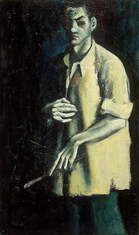 Oskar Fikar - Autoportrét