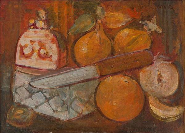 Endre Nemes – Zátišie s nožom