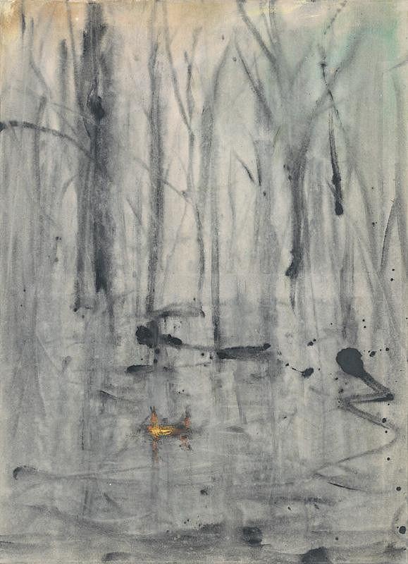 Andrej Dúbravský – Wet land, 2013, Slovenská národná galéria