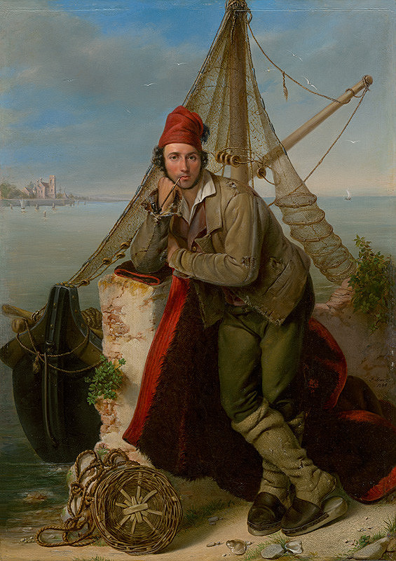 Ľudovít Benický - Benátsky rybár